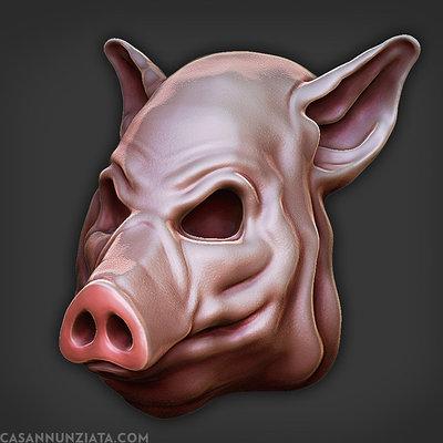 Lucas annunziata pig mask