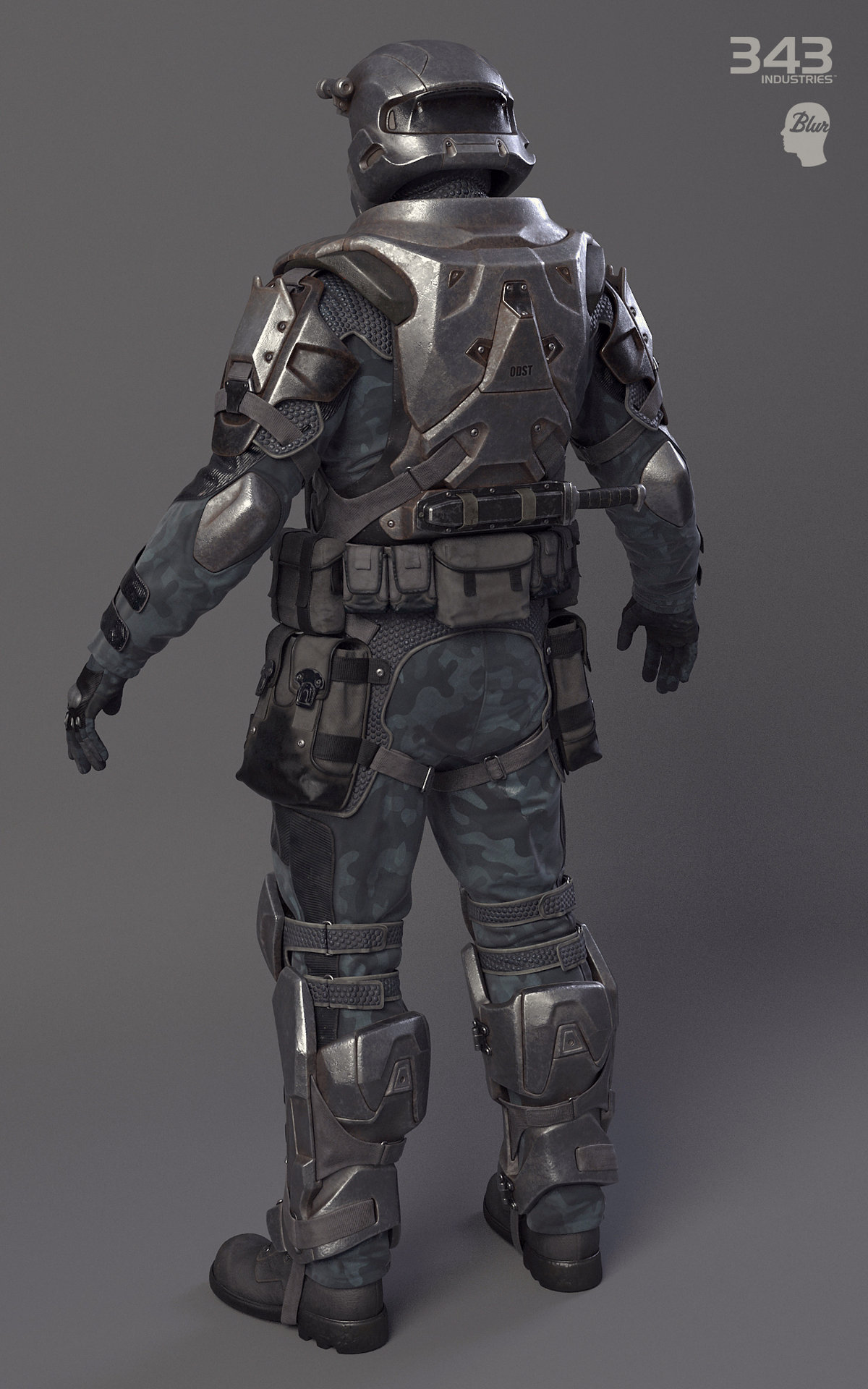 Someone asked so here is all odst and odst armor variants throughout the years halo - Halo odst images ...