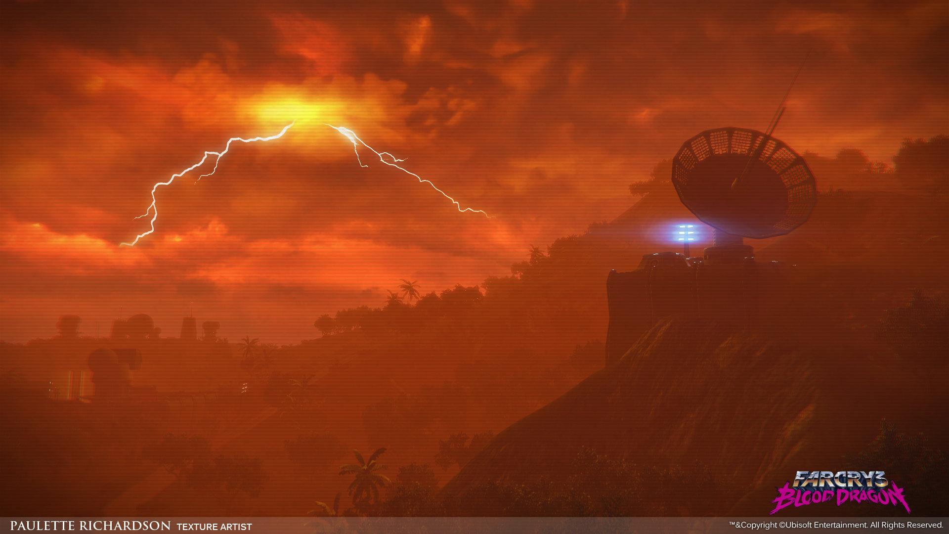 Artstation Far Cry 3 Blood Dragon Paulette Richardson