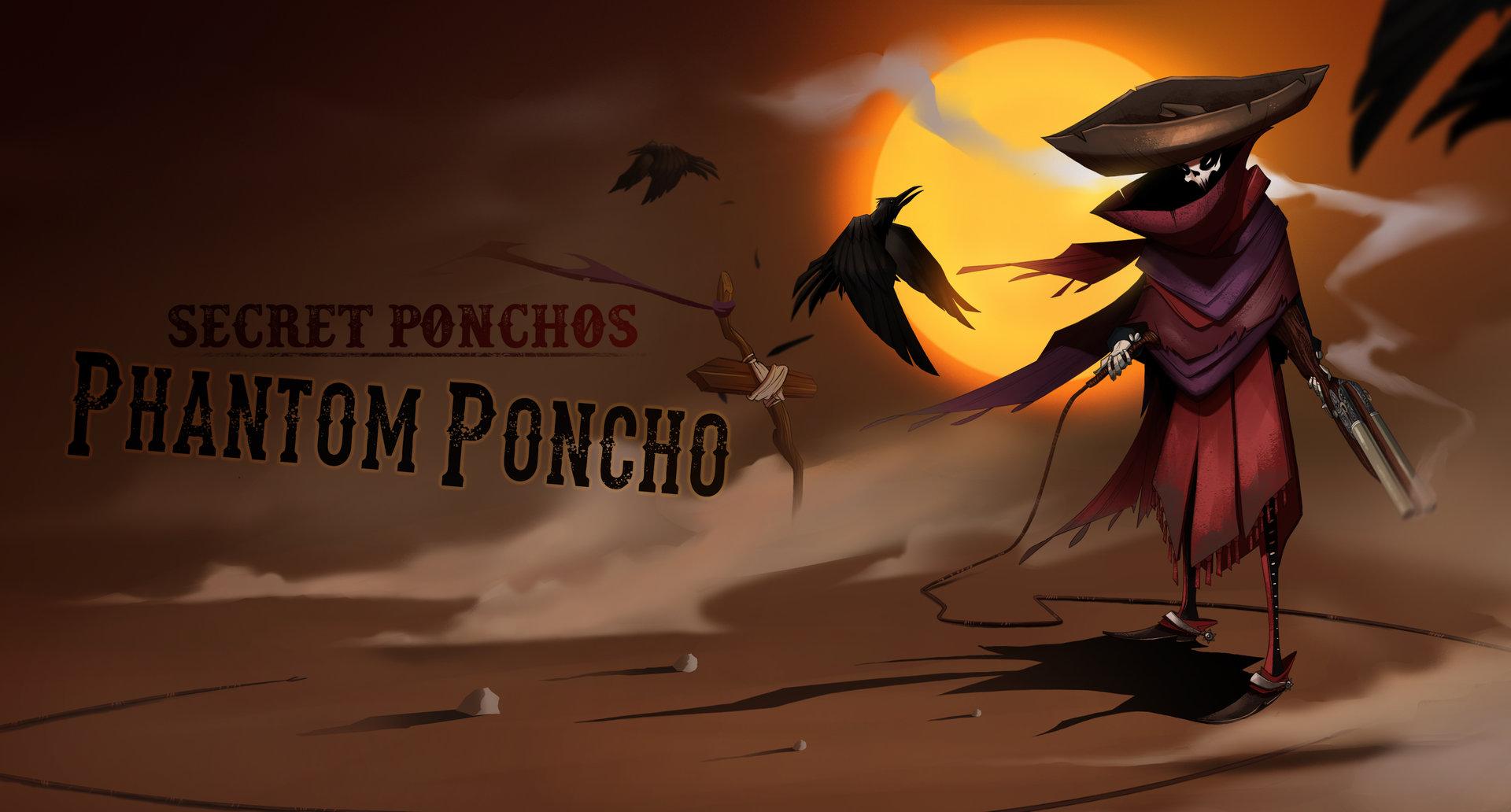 Botos vlad phantom poncho