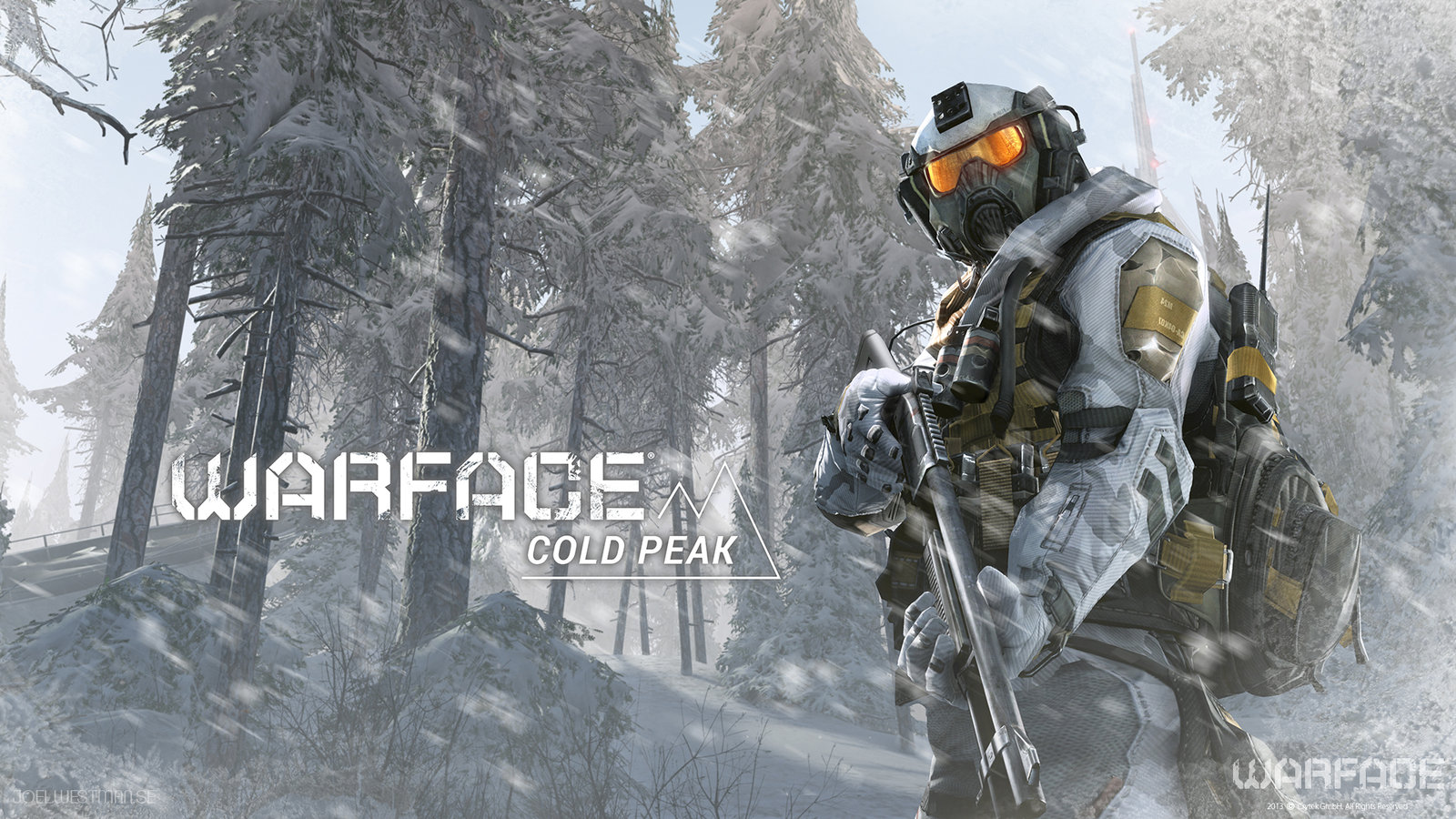Warface Cold Peak Promo Art