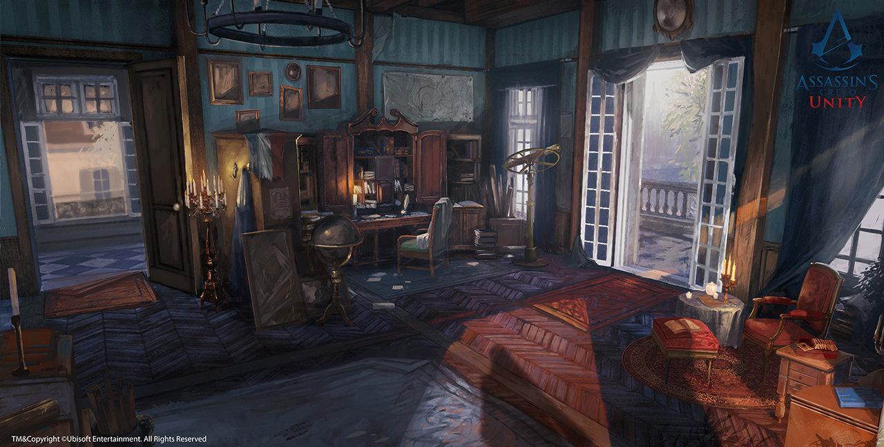 Assassin's Creed Unity /// Café théâtre Arno's desk