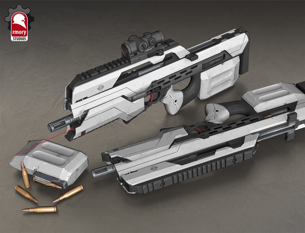 Ascend Assault Rifle - rmory studios