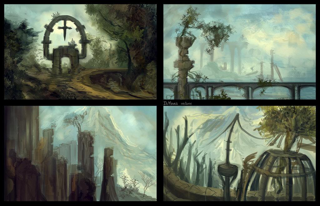 Leonardo de moura environment study 2 by leodemoura d83uo4c