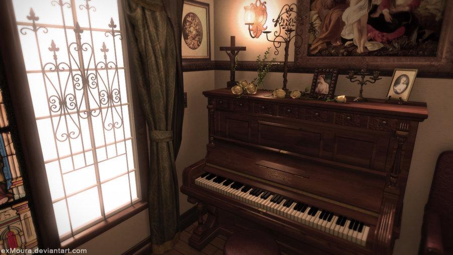 Leonardo de moura innermost piano room by exmoura d3e0dwy