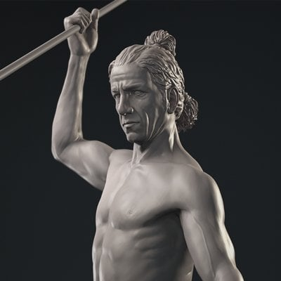 Male Figure Sculpture