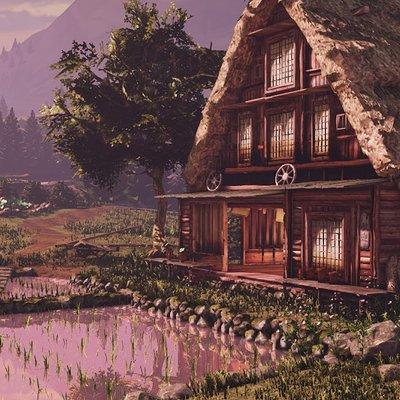 Rachel noy rachel noy japanese village scene udk