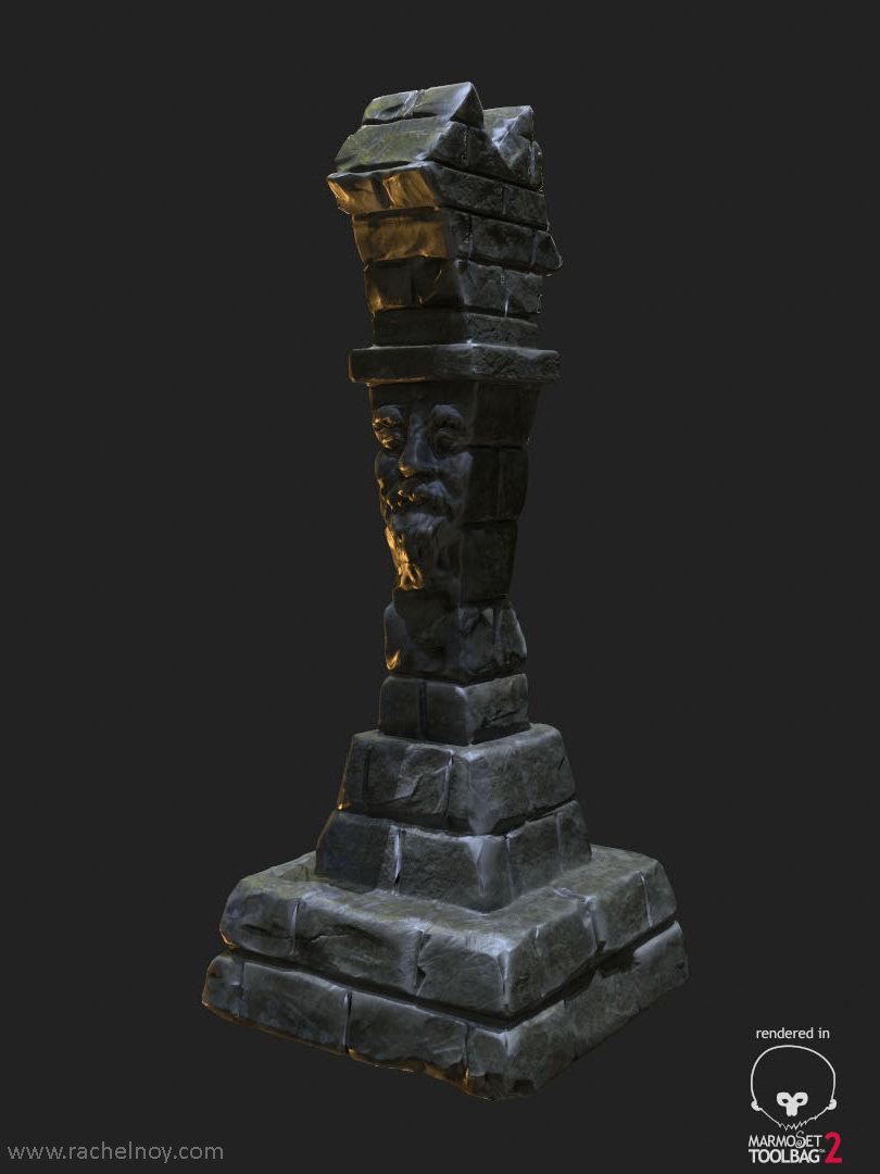 Rachel noy rachel noy 3d artist pillar