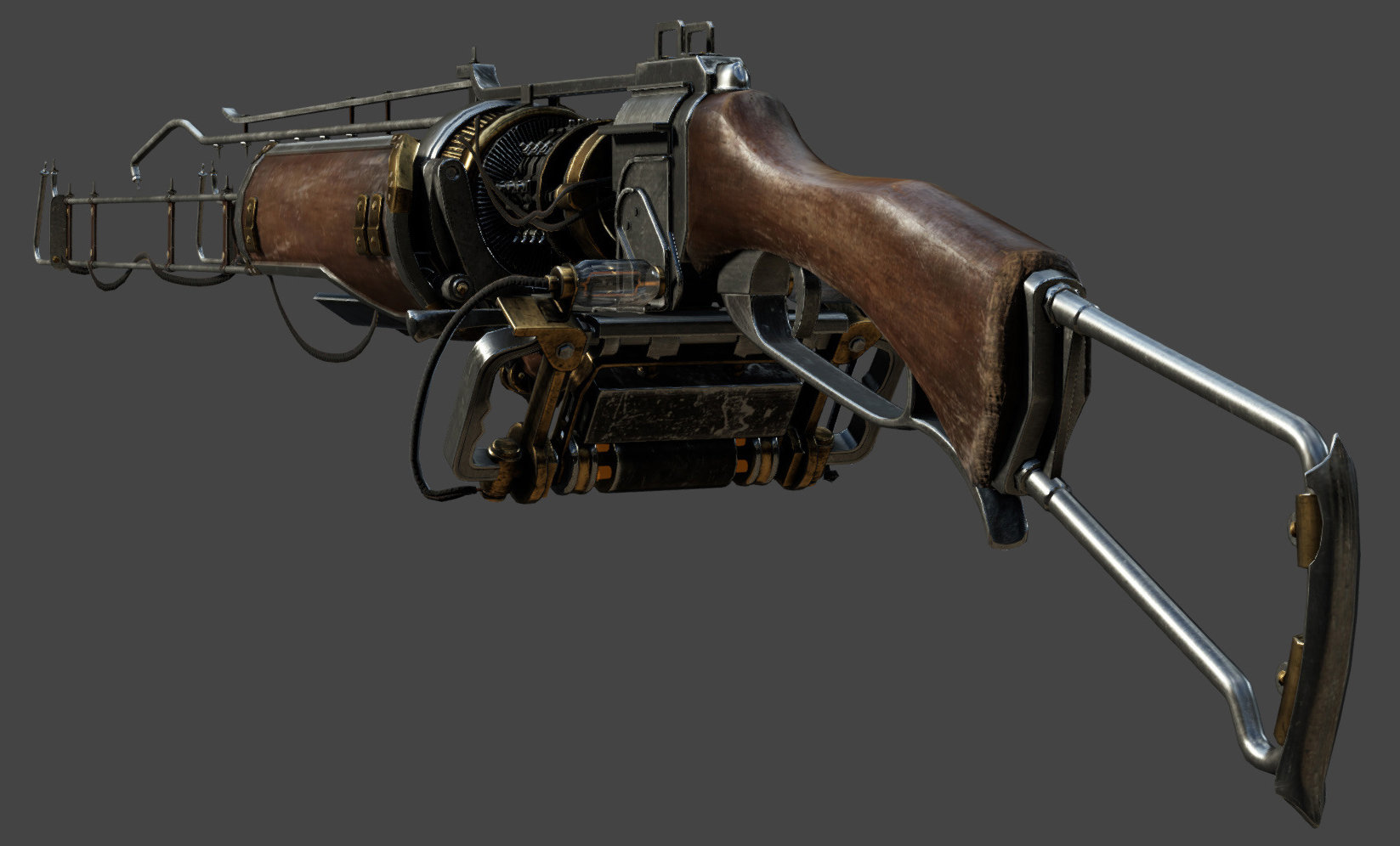 Yibing Jiang Shading And Texturing For Arc Gun The