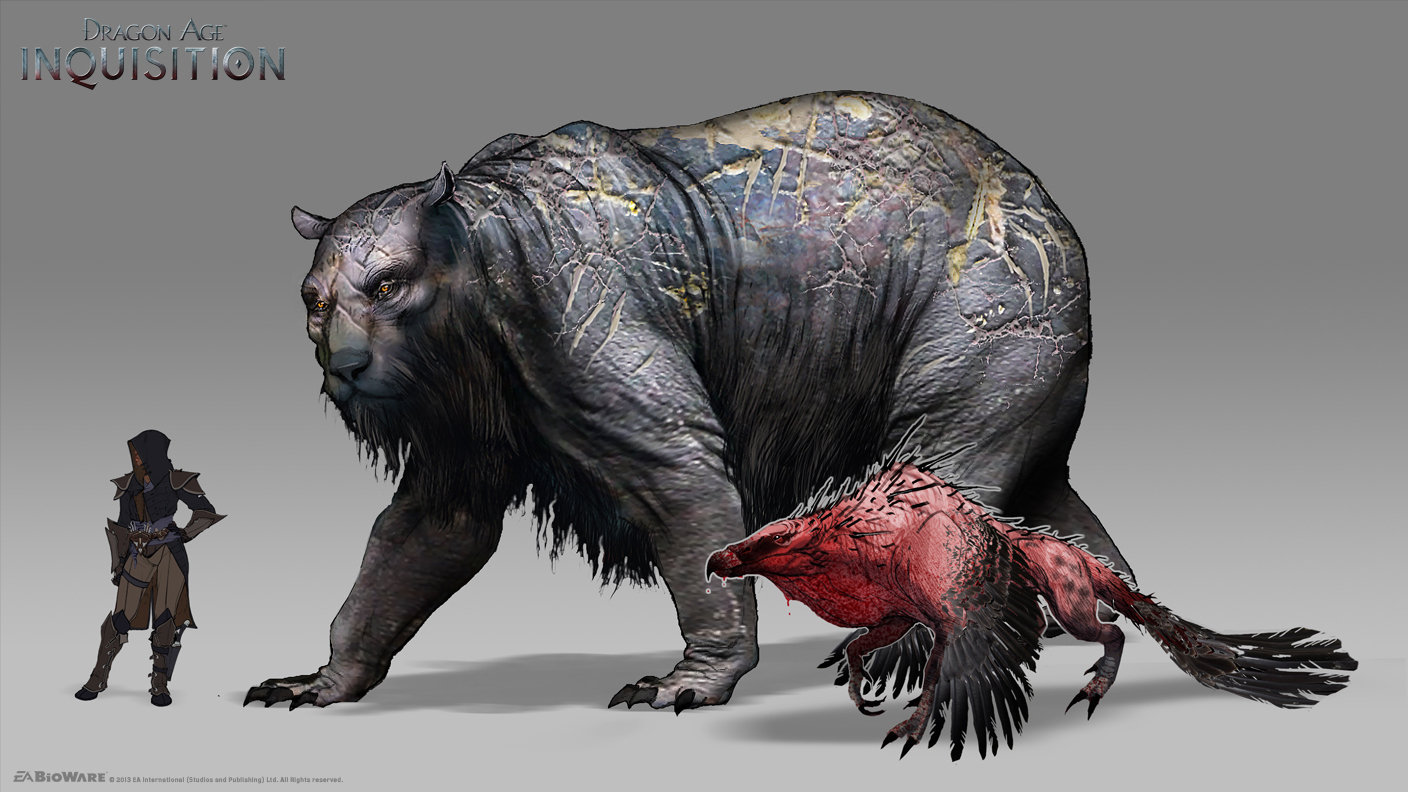 DA:I - Greater Wilderness Creatures