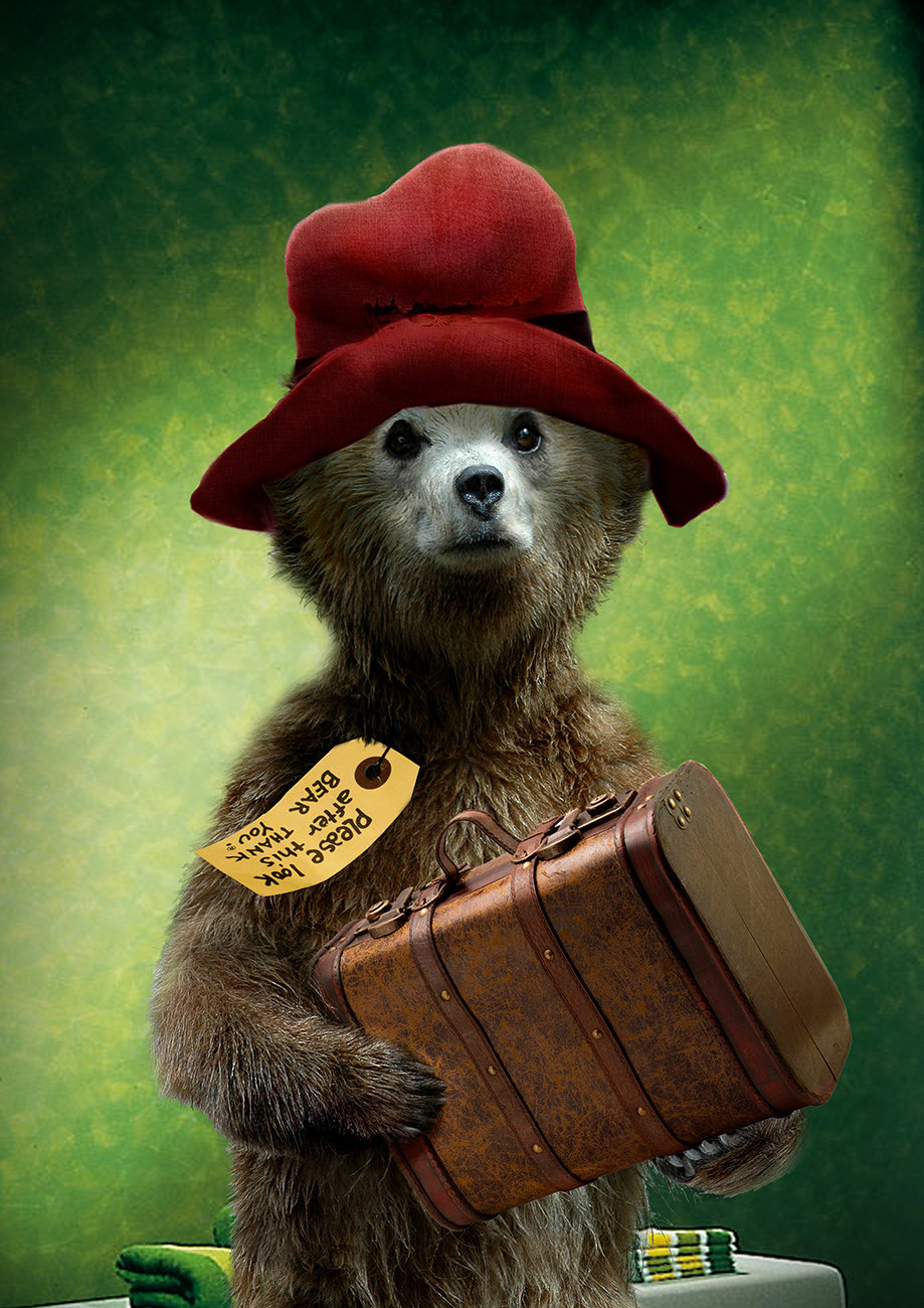 early concepts for Paddington Bear