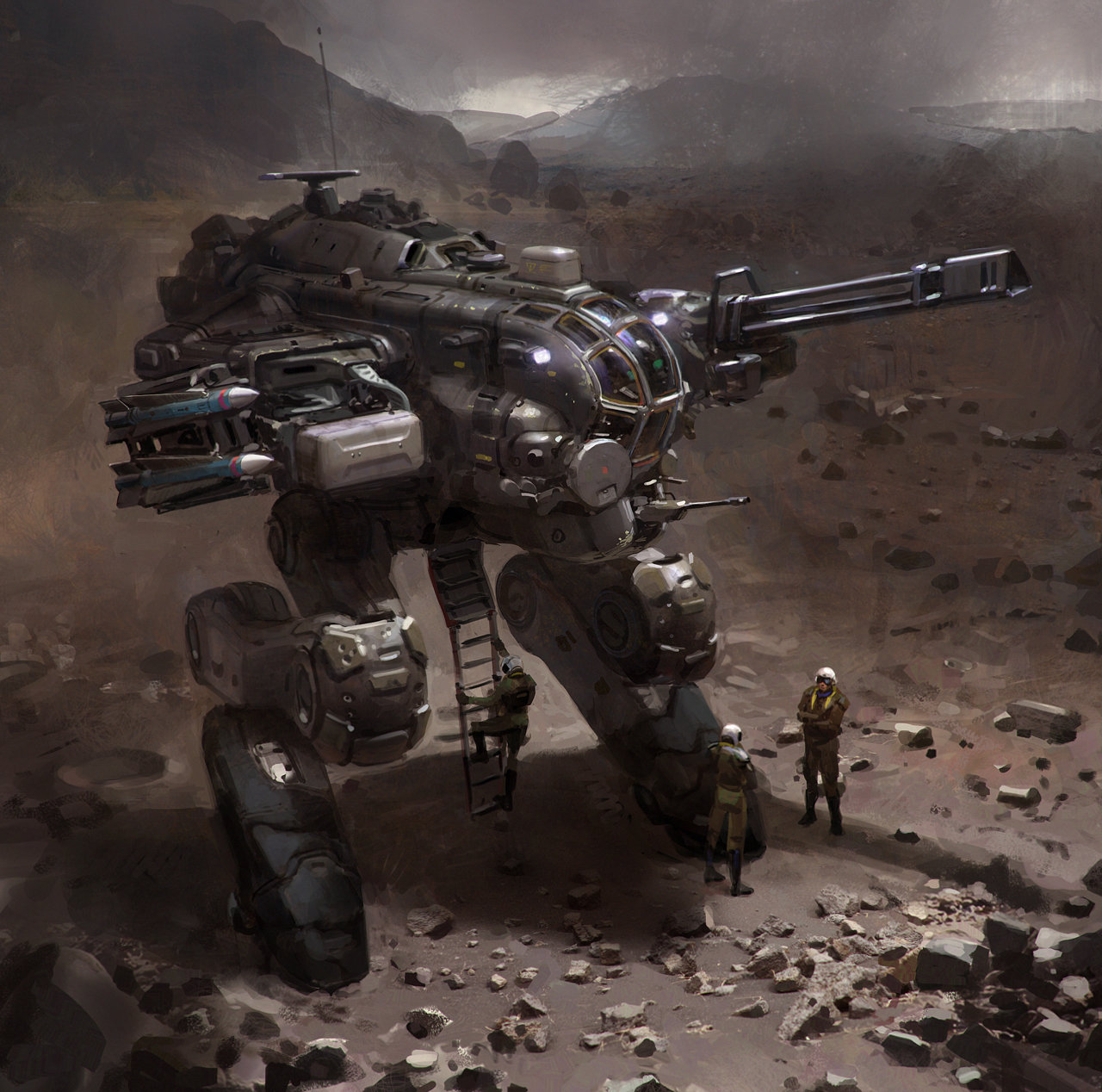 Mech w Missiles