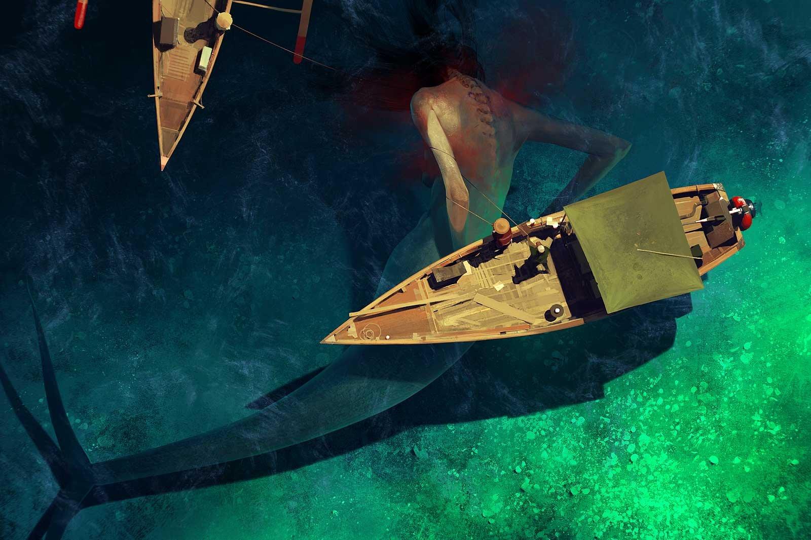 Sergey kolesov mermaid sharpen