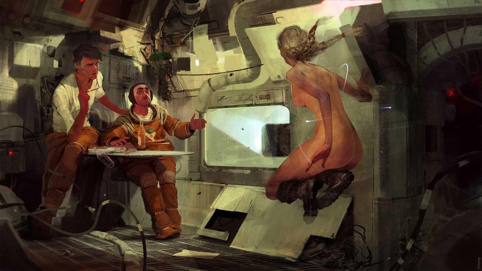 Sergey kolesov space station