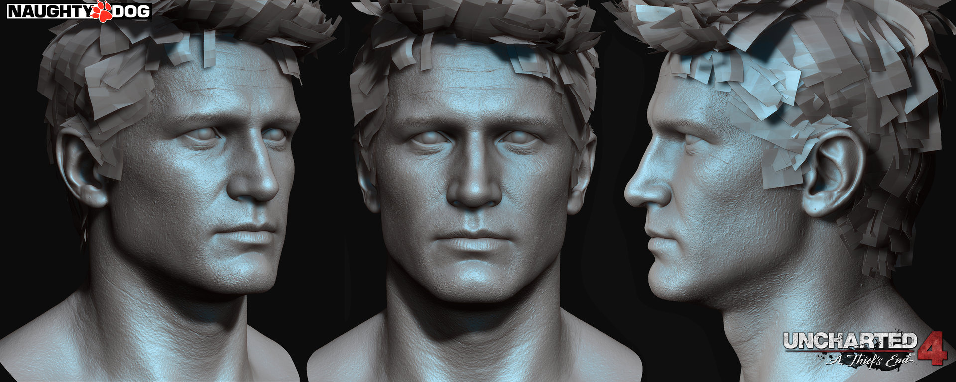 Artstation Nathan Drake Uncharted 4 Head And Arm Details