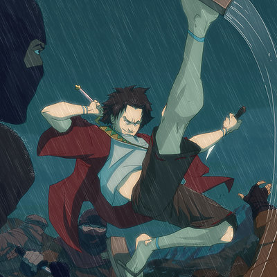 Harrison yinfaowei its mugen to you ninja 2