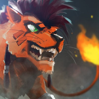 Lap pun cheung 042 it talks red xiii s theme