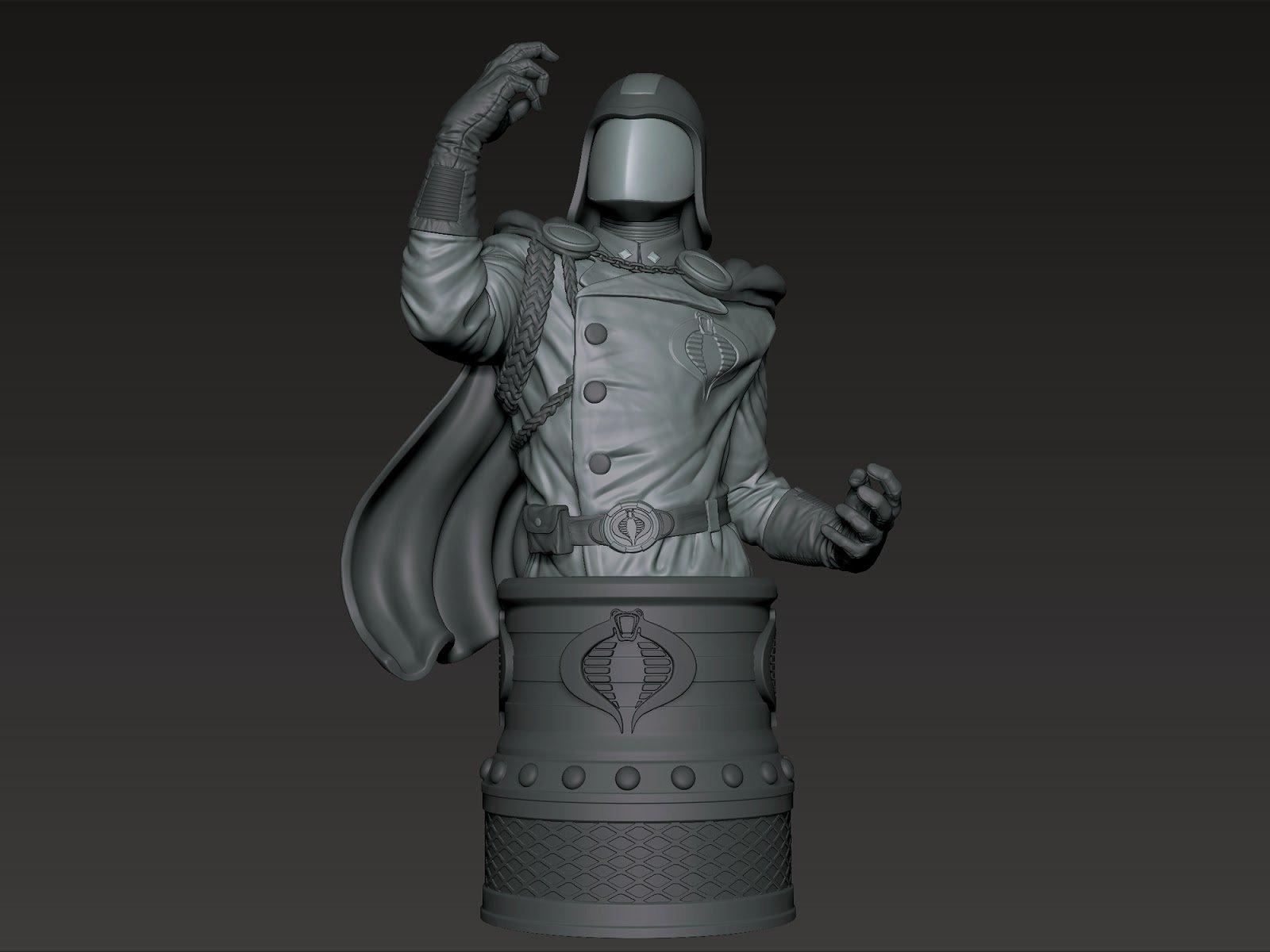 Artstation Cobra Commander Frankie Derosa