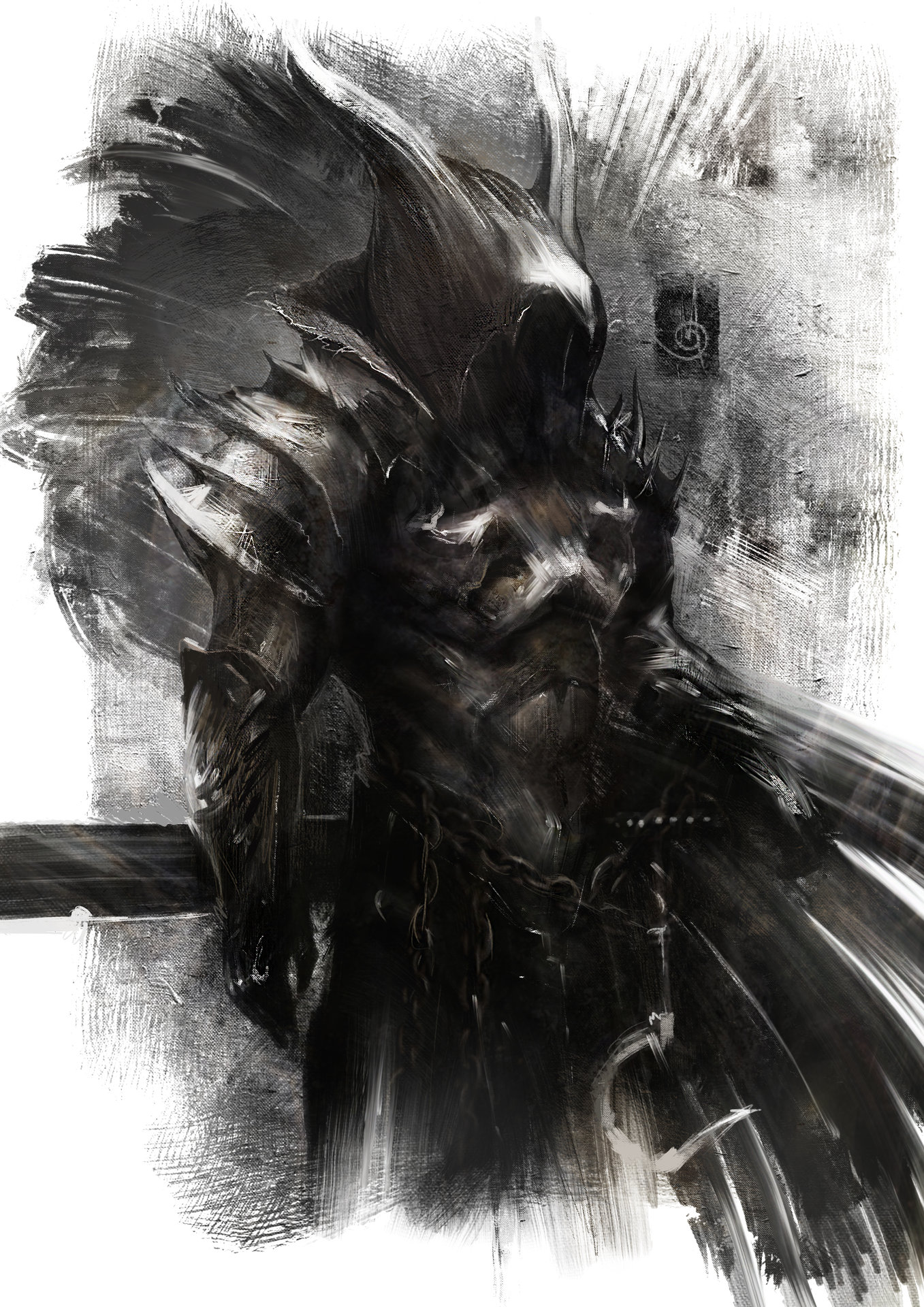 ArtStation - Dark Assassin, Murat Gül