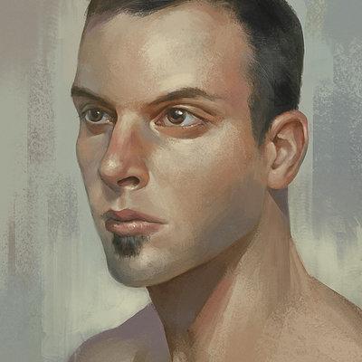 Juan novelletto selfportrait