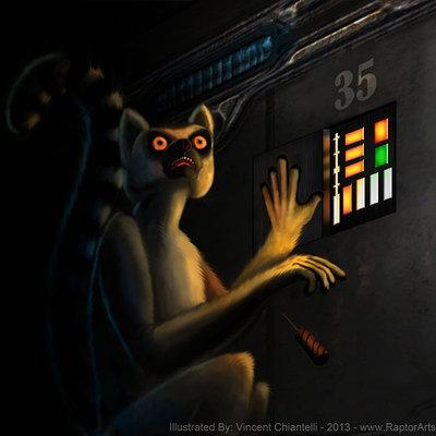 Vincent chiantelli lemurillustration1 by raptorarts d6wn53k 1