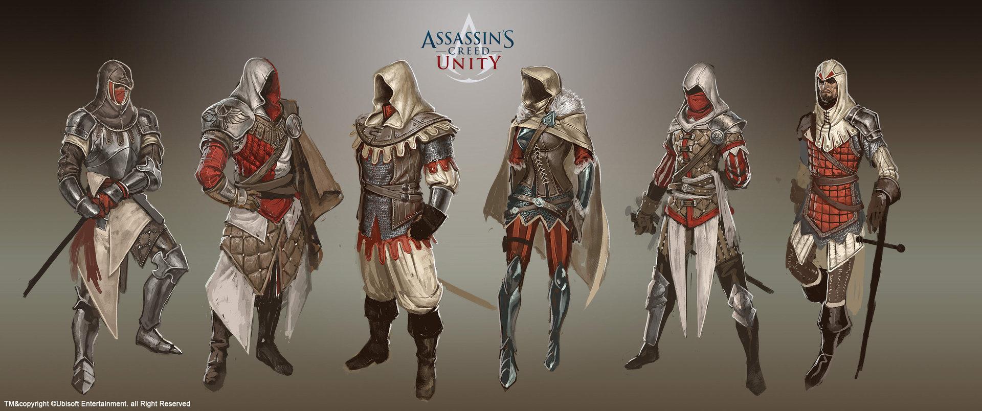 Artstation Assassin S Creed Unity Concept Arts Johan Grenier