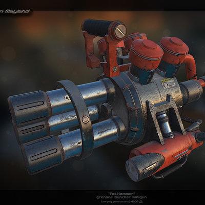 Ron mayland fat hammer miniguncold by muezli