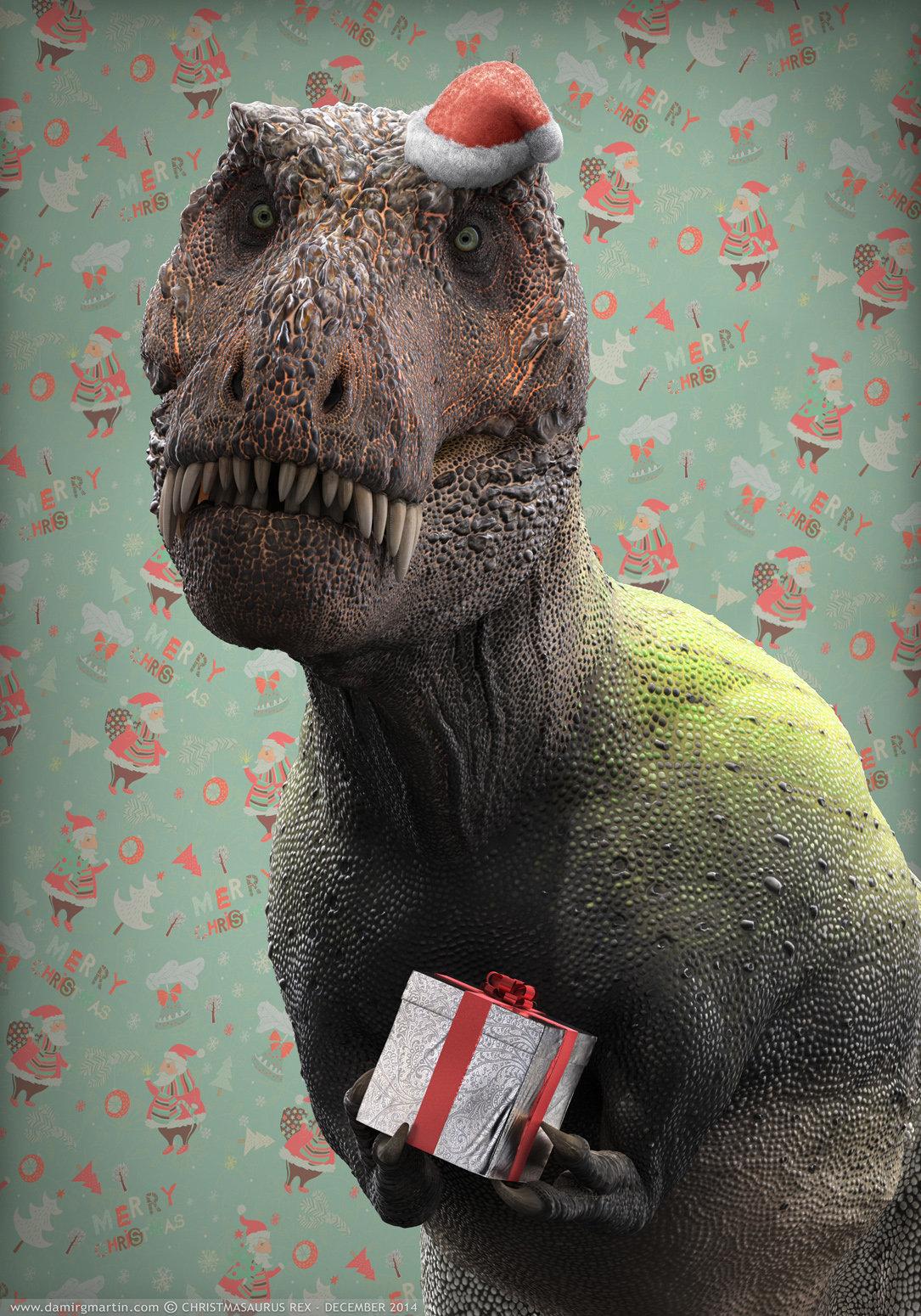 Rex, the Red-headed Tyrannosaurus