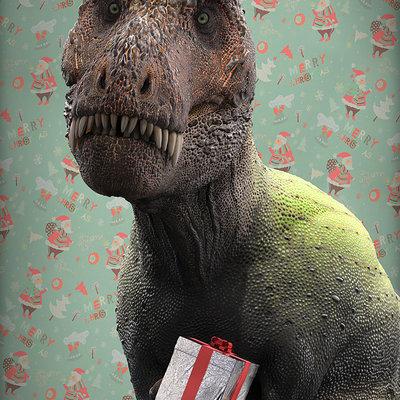 Damir g martin christmasaurus rex web