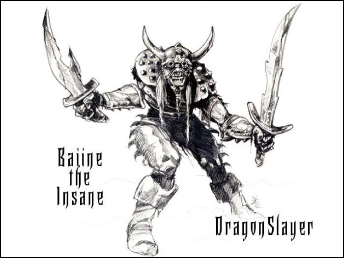 Baiine The Insane ©2014 Copyright, Joseph A. Wraith