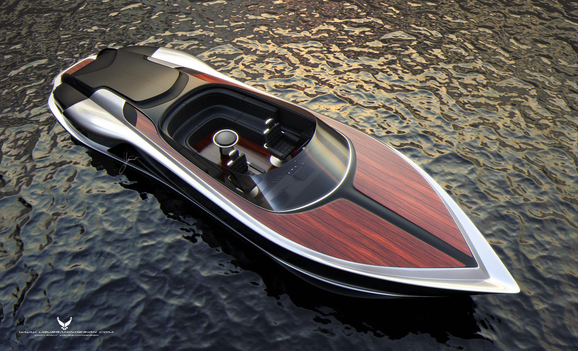 гоночный катер лодка