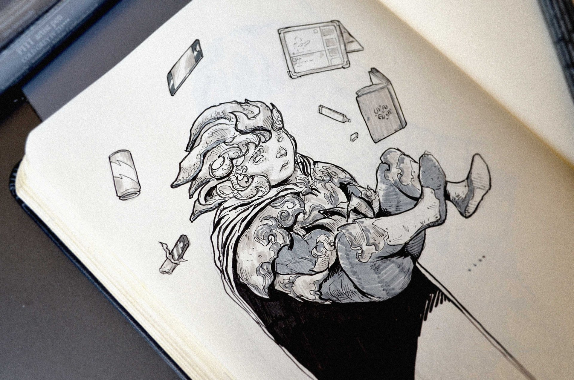 Josh matts inktober 5 small