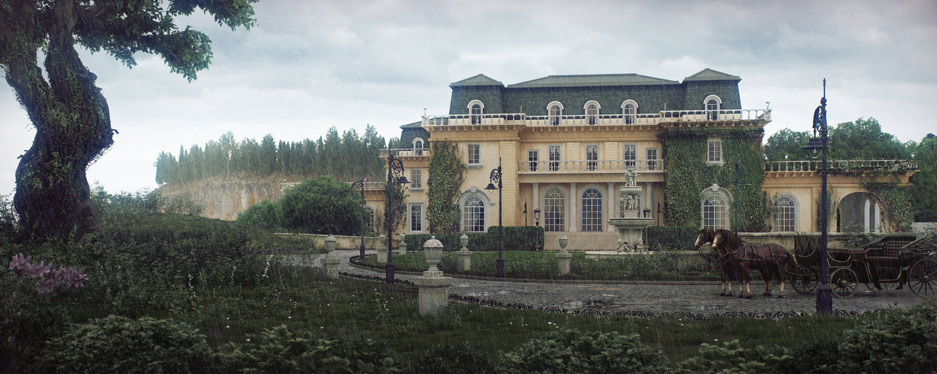 Large Mansions Andrew Averkin Old Mansion