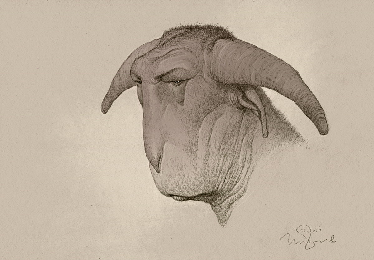 Minotaur Art by Penko Gelev