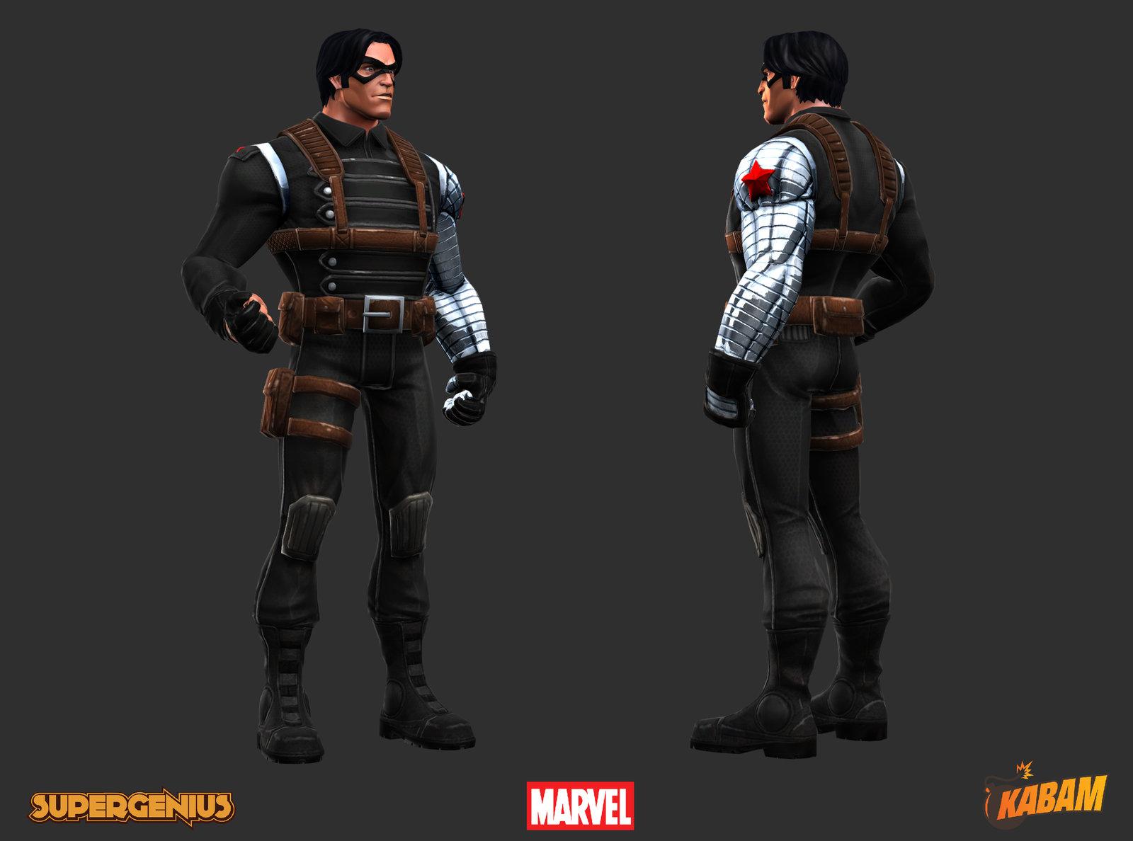 Marvel: Winter Soldier (Art Test)