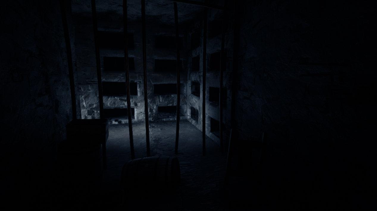 Light in catacomb