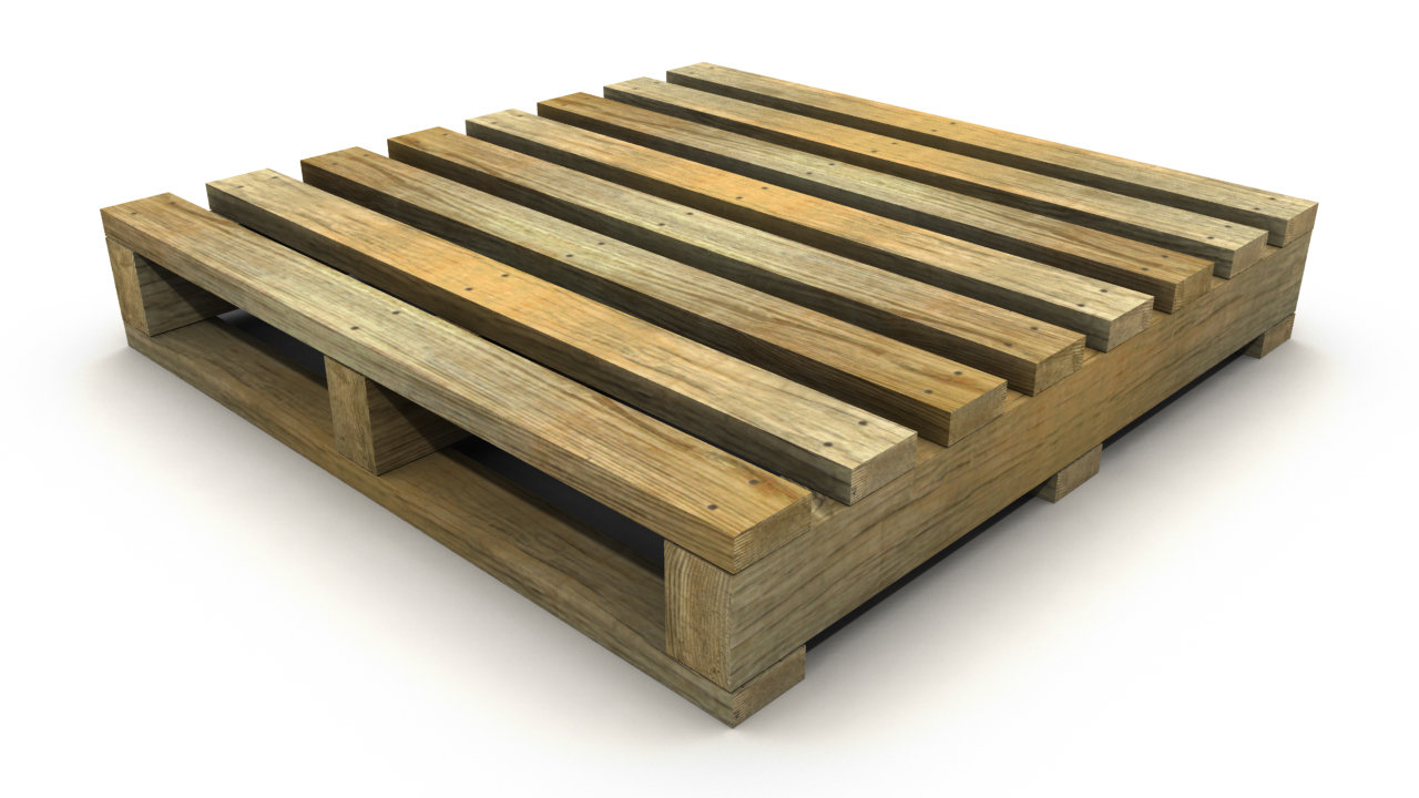 ArtStation - Low Resolution Wooden Pallets, Brian Belz
