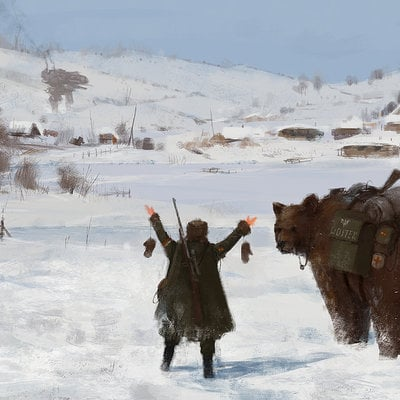 Jakub rozalski 1920 going homesmall