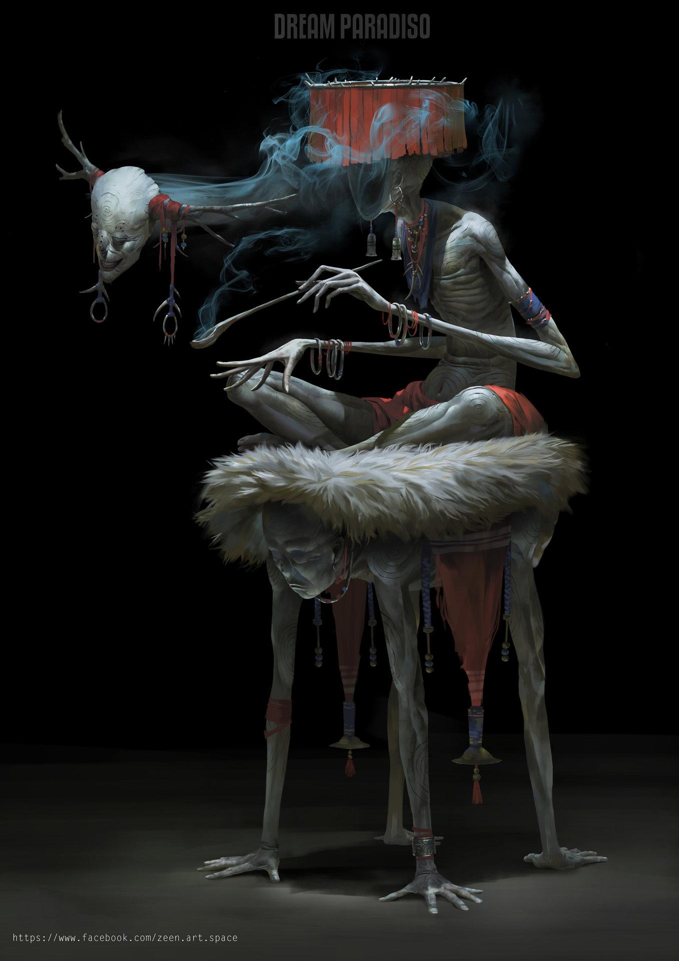 Zeen chin morpheses the portal psychic