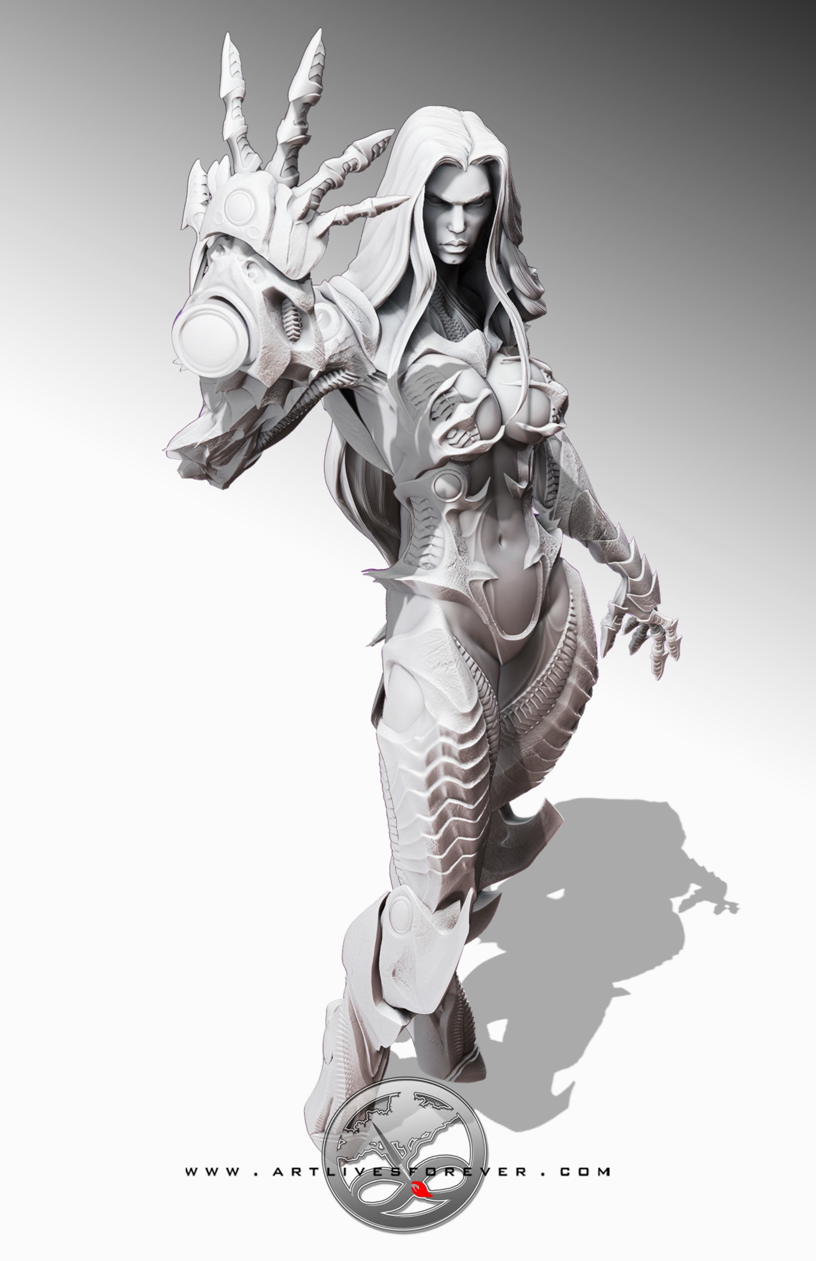 Witchblade www.artlivesforever.com