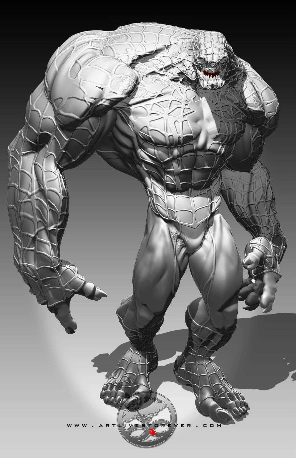 Venom www.artlivesforever.com