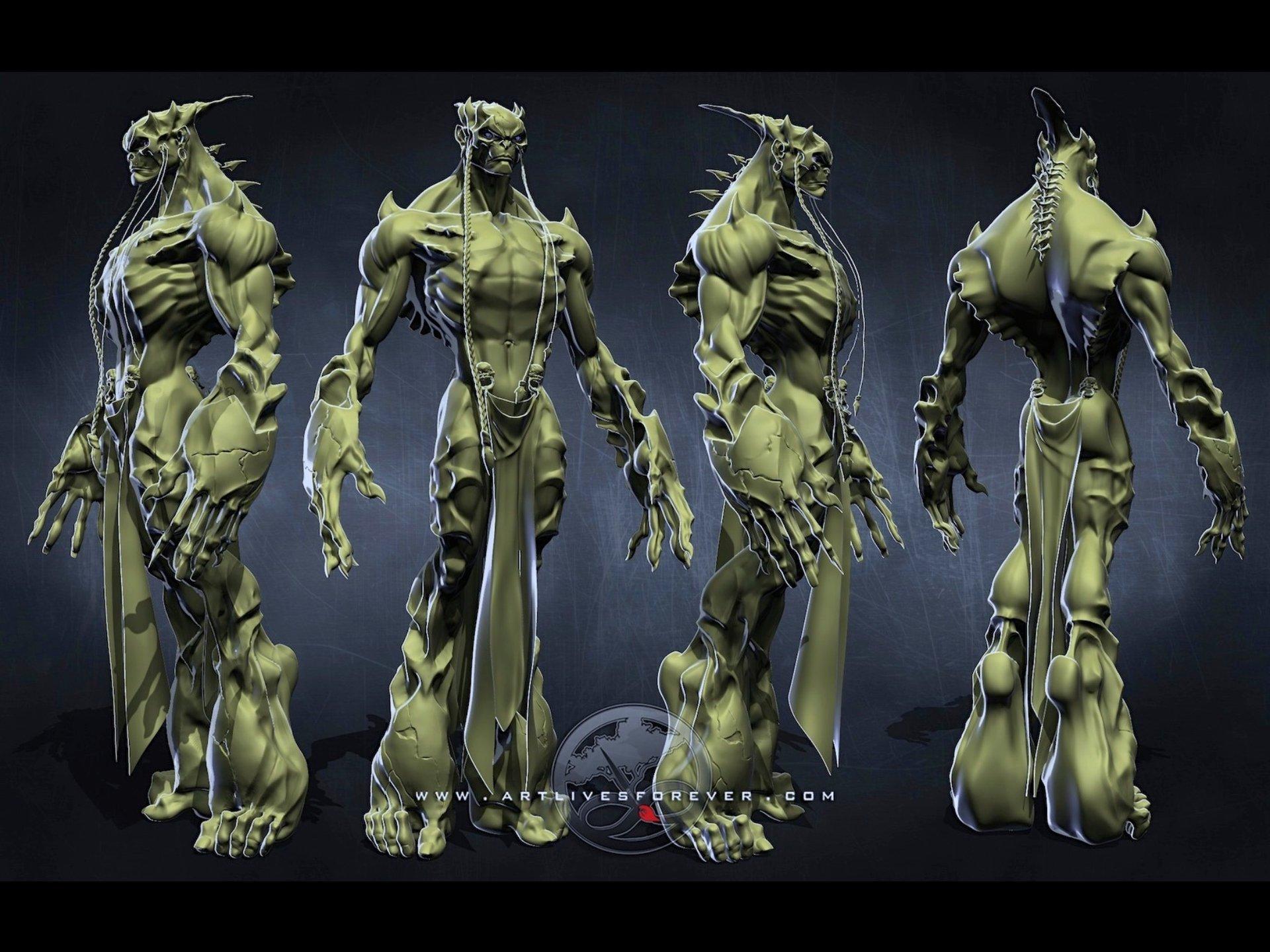 The Wraith's Orthos www.artlivesforever.com