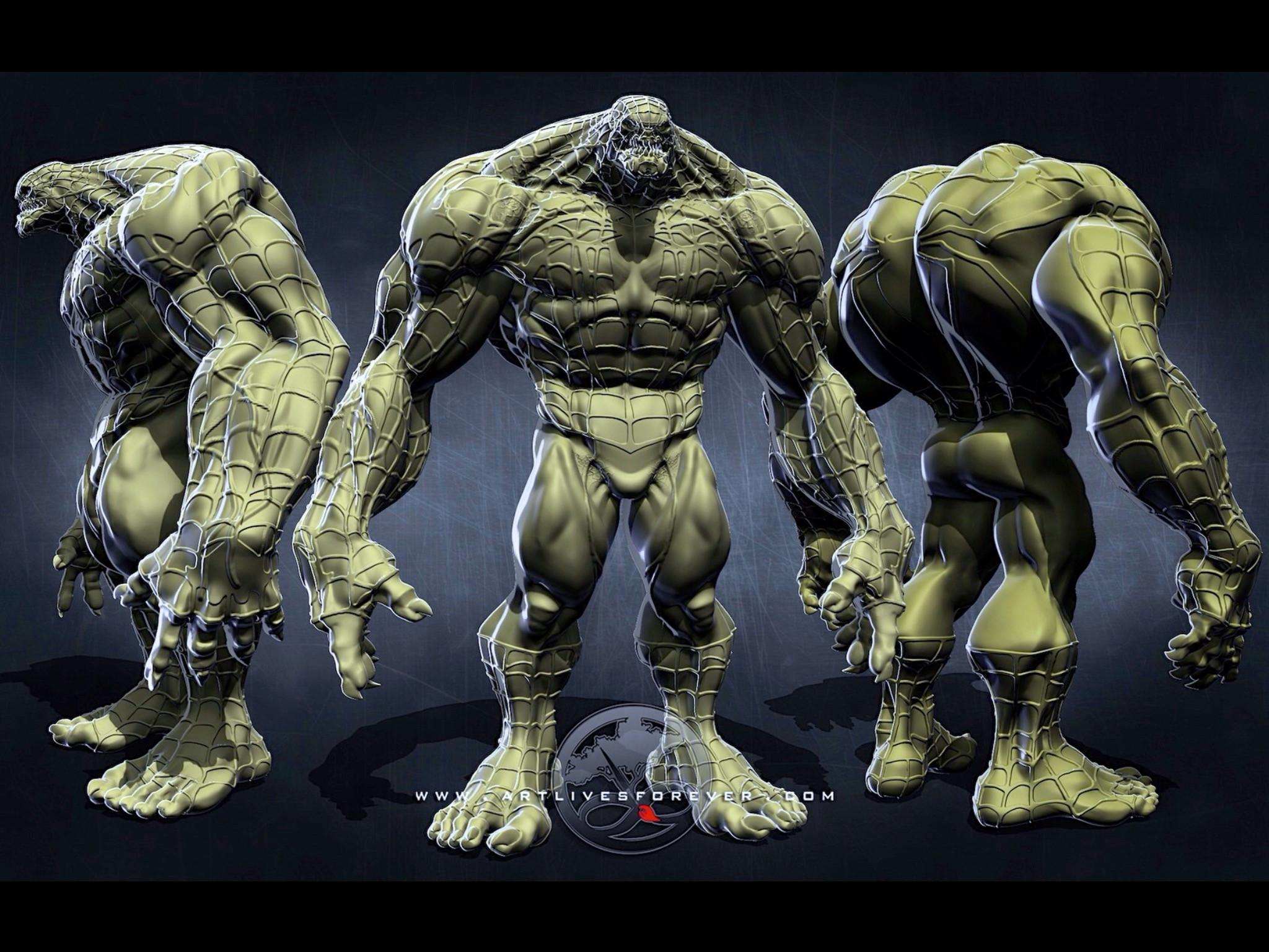 Venom's Orthos www.artlivesforever.com