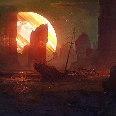 Vitali timkin wrecked ship