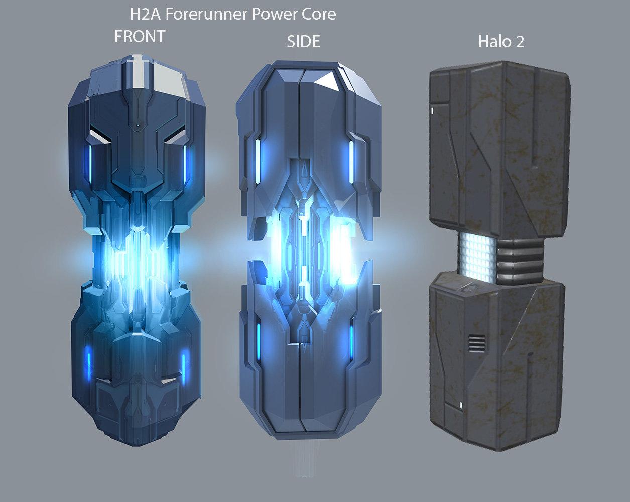 Halo 2 Anniversary Forerunner Power Core