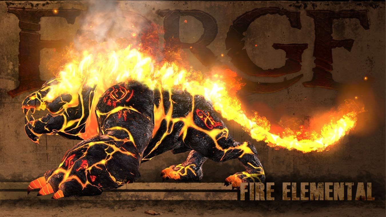 FORGE WAR/FIRE- ELEMENTAL- 2012