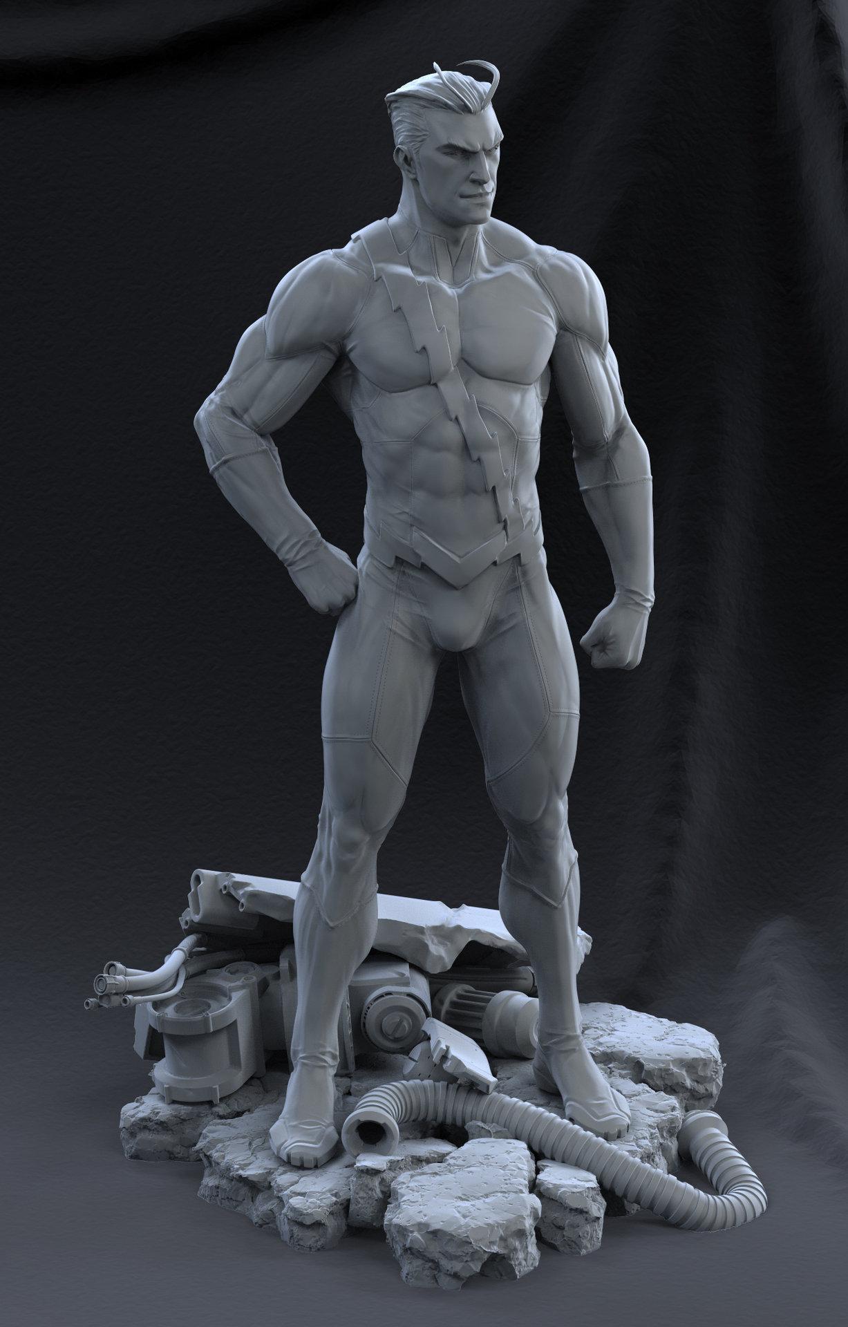 David giraud standing4 grey