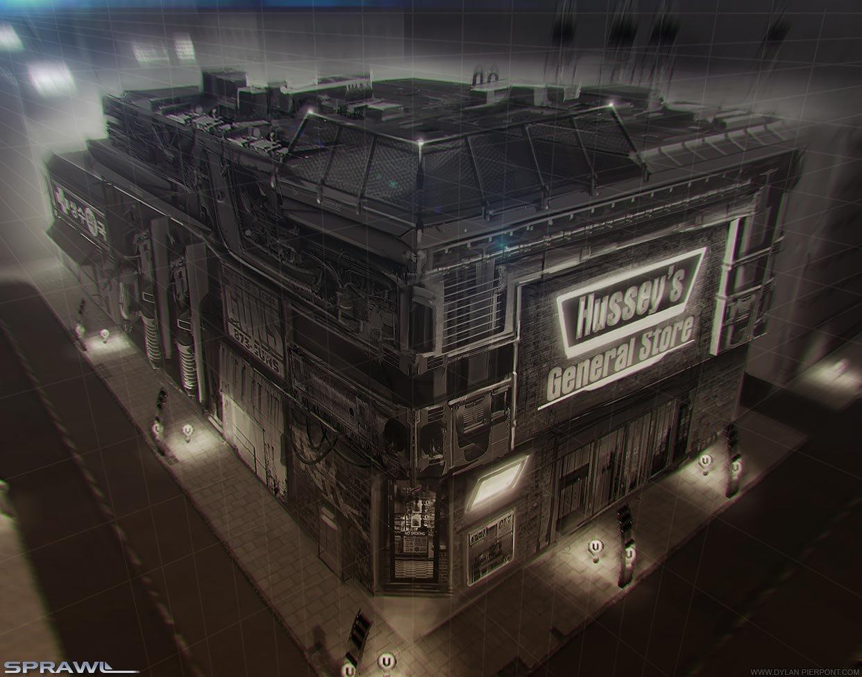Dylan pierpont dylanpierpont sprawl newmarket building concept
