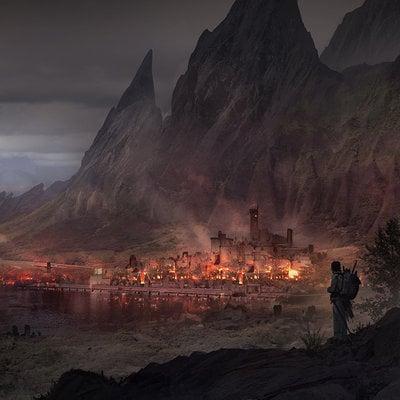 Florent llamas burn city