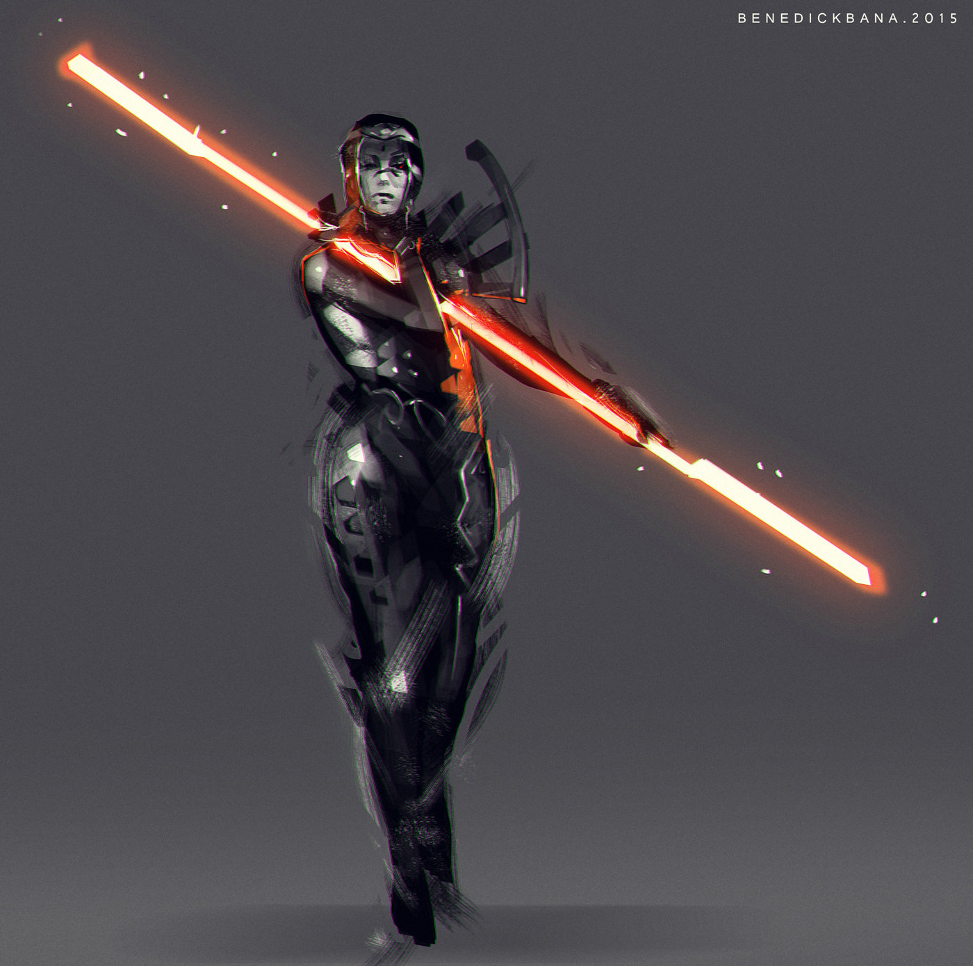 Benedick bana female warrior light final lores